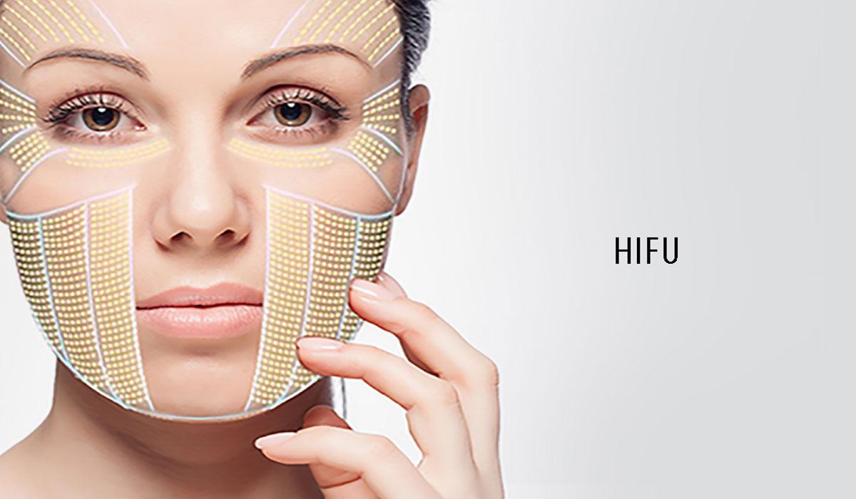 تقنية الهايفو لشد الوجه